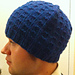 Windowpane Hat pattern