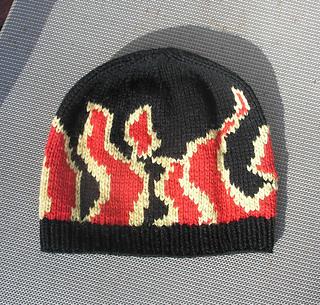 Head Huggers Flames Hat