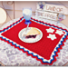 Patriotic Summertime Placemat pattern