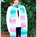 Amazing Grace Saturday Super Scarf pattern