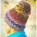 Boreal Bun Hat pattern