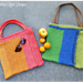 Summer Stripe Tote Bag pattern