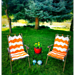 Lazy Daze Lawn Chair Cover pattern