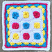 Summer Circus Square pattern