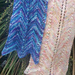 Bettas Tail Scarf pattern