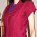 V neck tunic  pattern