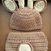 Deer Outfit (Newborn and 3 months) pattern