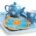 Primrose Dishcloth pattern