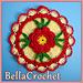 Country Rose Decorative Potholder pattern