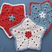 Little Star Dish cloth or Wash cloth pattern