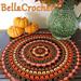Autumn Spice Mandala Doily pattern