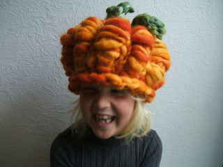 Ravelry Childs Adult Rustic Pumpkin Hat Pattern By