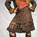 Patrizia Pepe Crochet Skirt pattern