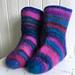 Saras felted socks pattern