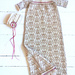 Golden Rose Christening Dress pattern