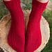 Woodpile Socks pattern