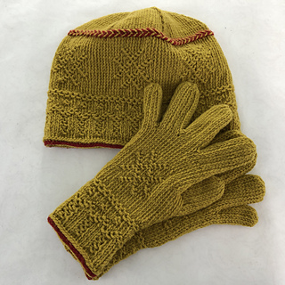 Matching hat pattern is available!