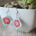 Granny Square Earrings pattern
