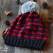 Plaid Slouchy Hat pattern