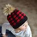 Kids Plaid Hat pattern