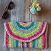 Rica Colorful Clutch pattern