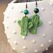 Cactus Earrings pattern