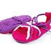 Crazy Summer Baby Sandals pattern