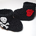 Rock & Roll Baby Boots pattern