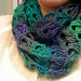 Broomstick Lace Infinity Scarf pattern