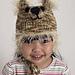 Baby Animal 'Big Bear' Hat pattern