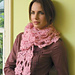 Trail of Blossoms Scarf pattern