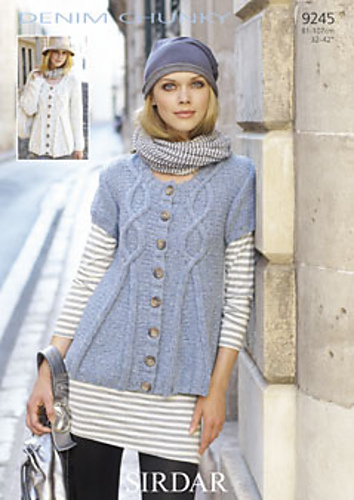 later detailed pictures good selling Ravelry: Sirdar Denim Chunky 9245 - patterns