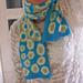 Spotty scarf pattern