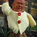 Jacket for a garden gnome pattern