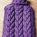 Toasty - Cabled Hot Water Bottle Cover pattern