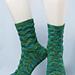 Easy Chevron Socks pattern