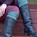 Redox boot cuffs pattern