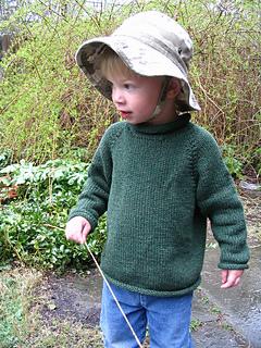 Sam in dark green sweater 02