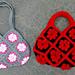 Granny Square Bag Crochet Joining Tutorial pattern