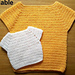 Child Sweater (long or short sleeve) pattern