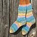 Simple Dimple Socks pattern