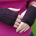 Double Moss Mitts pattern