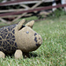 Plum Pudding Pig pattern