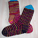 Stained Glass Socks pattern