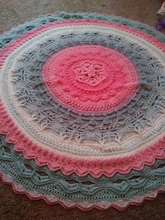Unicorn Mandala CAL pattern by Anna Nilsson