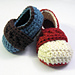 Strapping Boy Baby Booties pattern