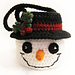 Frosty the Snowman Basket pattern