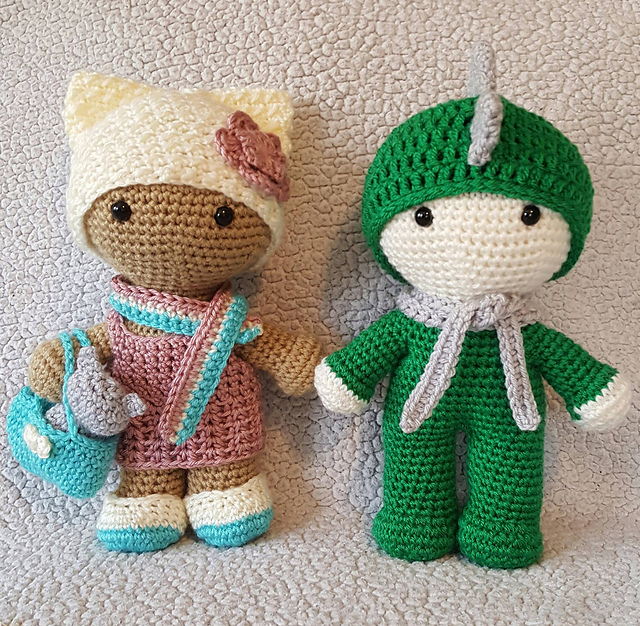 Amy the Amigurumi Doll - A Free Crochet Pattern - Grace and Yarn | 626x640