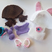 Easter Bunny Accessories pattern