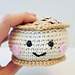 Izzy the Ice Cream Sandwich pattern